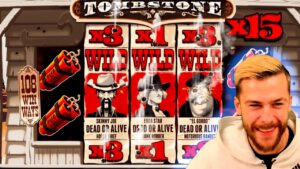 novel EXTRA large WIN on Tombstone Slot (Nolimit) – casino bonus Slots large Wins