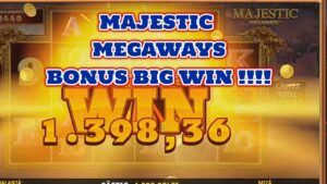 MAJESTIC MEGAWAYS BONUS large WIN