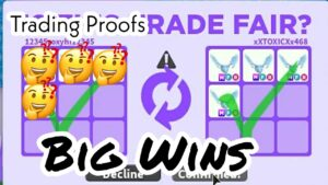 Adopt Me Trading large Wins as well as Giveaway