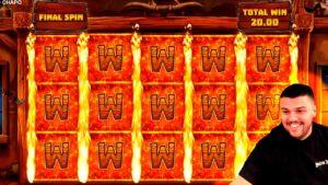 CRAZY FANTASTIC MEGA WIN! Streamer Mega Win on Wild Chapo Slot! BIGGEST WINS OF THE calendar week! #65