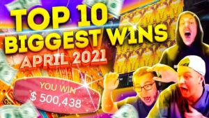CRAZY TIME large WIN $500K – TOP 10 Biggest Wins of Apr 2021