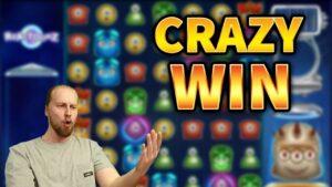 CRAZY WIN! Reactoonz Huge Win – casino bonus Games from MrGambleSlots Live flow