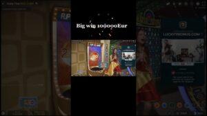 EPIC large WIN 100000 EURO inward CRAZYTIME #shorts #casino bonus #blackjack