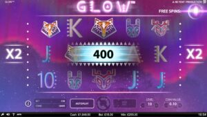 Glow Slot Machine at CloudCasino.com large WIN