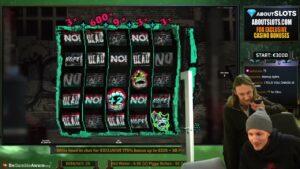 HUGE WIN CHAOS CREW large WIN  casino bonus SLOT WIN FROM CASINODADDY1