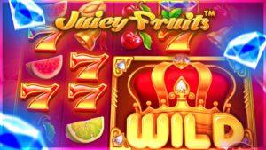 I got a HUGE WIN on Juicy Fruits