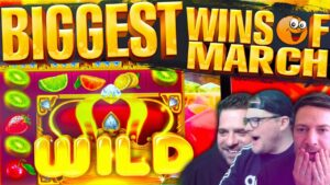 INSANE SLOT WINS! March 2021 Fruity Slots Highlights!!