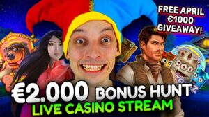 LIVE casino bonus current! Slots large Wins! BONUS HUNT OPENING too then BONUS BUYS