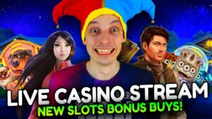 LIVE casino bonus current! novel Slots large Wins together with BONUS BUYS