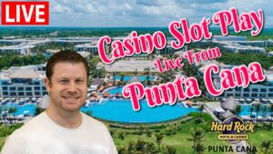 Live Slot Play 🌴 large casino bonus Wins at The Hard stone inward Punta Cana!