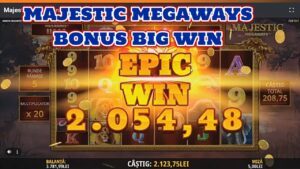 MAJESTIC MEGAWAYS BONUS large WIN