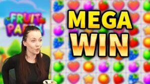 MENANG MEGA! Buah partai politik Kemenangan Besar - Permainan bonus kasino dari MrGambleSlots Live saat ini