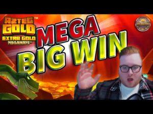MEGA large WIN AT AZTEC atomic number 79 MEGAWAYS!!! ONLINE casino bonus SLOT WIN FROM JJCASINO´S LIVE flow