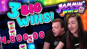 MEGA large WIN Compilation on Jammin' Jars!