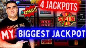 MY ✦BIGGEST JACKPOT✦ On $100 Wheel Of Fortune Slot Machine 🔥😳🔥 | Mega Handpay Jackpot | SE-11 | EP-nine