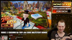 Monopoly Live large Win Compilation von ShaneTSGTV Slots auf Deutsch