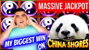 My BIGGEST JACKPOT On Cathay Shores | Slot Machine MEGA HANDPAY JACKPOT