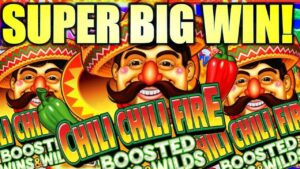 SUPER large WIN! THESE CHILIS WERE ON flaming!!! 🌶 CHILI CHILI flaming BOOSTED WINS & WILDS! (Konami Gaming)