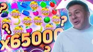 SteveWillDoIt Huge Win on sweetness Bonanza Slot | Gambling Highlights #26