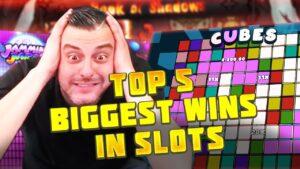 Top 5 BIGGEST WINS inward SLOTS ★ EPIC WINS inward ONLINE CASINOS #1 04/2021