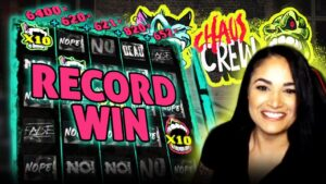 Top 5 BIGGEST WINS on CHAOS CREW slot