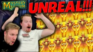 UNREAL MAX WIN on Mystery Museum (Our Biggest Win Ever)
