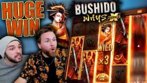 large Bonus purchase = large Win (Bushido xNudge)