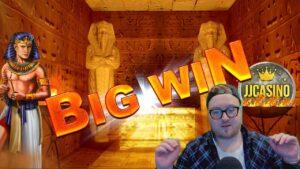 large WIN AT RAMSES volume!!! ONLINE casino bonus SLOT WIN FROM JJCASINO´S LIVE flow