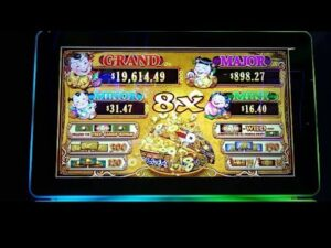 large WIN ON 88 FORTUNES DANCING DRUMS  SLOTS AT CHOCTAW casino bonus
