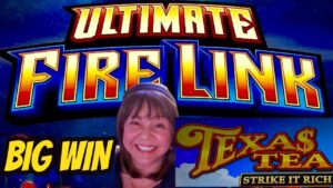 large WIN-Ultimate flame Link & Texas Tea Strike it Rich