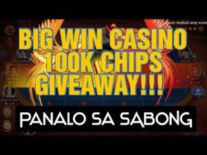 large WIN casino bonus: Panalo Tayo sa SABONG guys! Plus 100K CHIPS GIVEAWAY per participant | JazzBheng Vlog