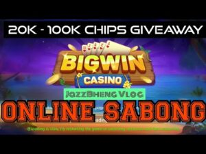 large WIN casino bonus: Talpakan sa Online Sabong! Plus 20K – 100K chips Giveaway   JazzBheng Vlog