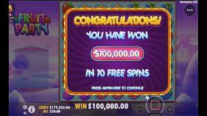 large win inwards online casino bonus. Pragmatic play. The large jackpot