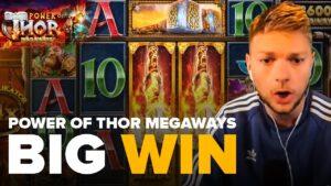 powerfulness of Thor Megaways | large WIN yesteryear Kongebonus