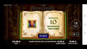 volume of Kings casino bonus large Win 2!