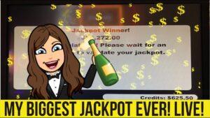 BIGGEST VGT JACKPOT ON YOUTUBE CAUGHT LIVE! MASSIVE HANDPAY!! WINSTAR casino bonus!