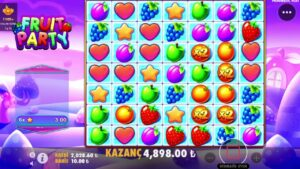 FRUİT political party GÜNEŞ ÇIKMAYA BAŞLADI / BİG WİN #Slot #casino bonus #FruitParty