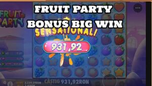 FRUIT political party BONUS large WIN