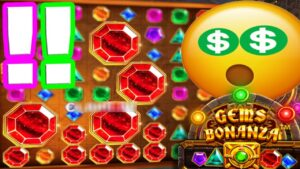 Gems Bonanza 💎 Squares Pay Random Michael 😱 Huge Mega large Win Non halt Bonus Buys‼️