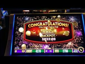 HUGE WIN ON BUFFALO Au COLLECTION SLOTS AT WINSTAR casino bonus