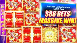 MASSIVE HIGH boundary WINS ON 5 TREASURES SLOT MACHINE ★ large JACKPOT WINNER