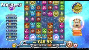 MEGA large WIN on Reactoonz online slot   Best wins of the calendar week casino bonus