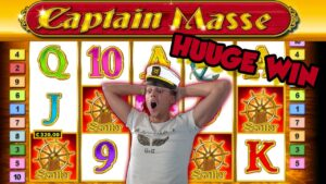 Online Slot – CAPTAIN VENTURE large Win too LIVE casino bonus GAMES (casino bonus Slots) Huge win