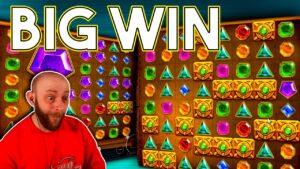 Online Slots: large Win On Gems Bonanza Bonus purchase!