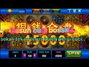 Reviw slots game play.large win mega win great wall99 playboy88 slots game god of wealth.bonus masuk..