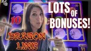 😁SO MANY BONUSES on AUTUMN Luna DRAGON LINK Slot ~ Atlantis casino bonus 2021