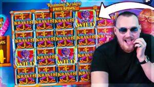Streamers Biggest Wins on Release the Kraken(*2000X WIN*)