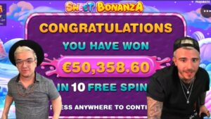 TOP 5 INSANE WINs ONLINE casino bonus #19 sweetness Bonanza & San Quentin large WIN
