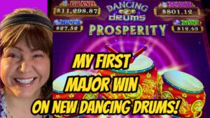 WOW! My firstly large Major Win On novel Dancing Drums Prosperity