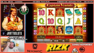 large Bet!! Super goodness Bonus From Captain Venture Slot!!